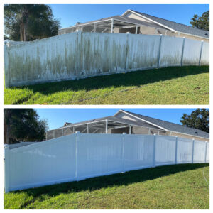Vinyl Fence Cleaning tampa florida