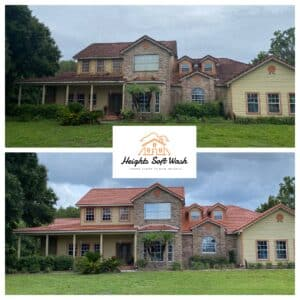 Heights soft wash - Best Exterior House Washing & Cleaning Service in Tampa